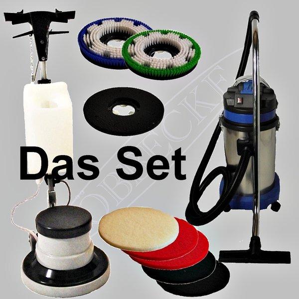 das set einscheibenmaschine sauger service center l bbecke. Black Bedroom Furniture Sets. Home Design Ideas